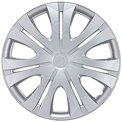 """4 PC Set 16"""" Silver Hubcaps Wheel Cover OEM Replacement Durable Hub Caps"""