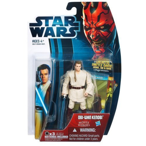 Star Wars 2012 Saga Movie Legends Action Figure ObiWan Kenobi Version 2