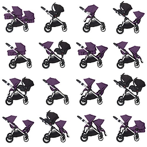 Baby Jogger 2014 City Select Stroller w/2nd Seat, Amethyst - 1