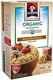Quaker Organic Oatmeal, Maple Brown Sugar, 11.5 Ounce