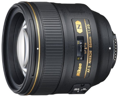 Nikon AF-S 85mm f/1.4 G Nikkor Lens for Nikon Digital SLR