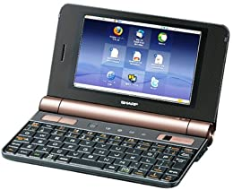 SHARP Net Walker (ネットウォーカー) モバイルインターネットツール ブラック系 PC-Z1-B