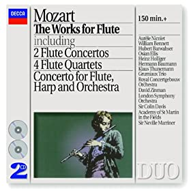Wolfgang Amadeus Mozart: Andante for Flute and Orchestra in C, K.315