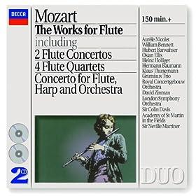 Wolfgang Amadeus Mozart: Flute Quartet in A, K.298 - 1. Thema (Andante) con variazioni