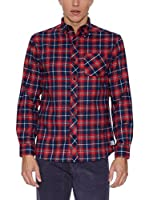 THE INDIAN FACE Camisa Hombre (Rojo)