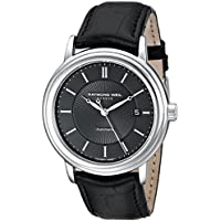 Raymond Weil 2847-STC-20001 Maestro Analog Display Automatic Men's Watch (Black)