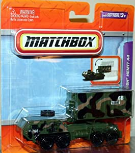 OSHKOSH HEMTT A4 * MILITARY CAMOUFLAGE * Matchbox Real Working Rigs Die-Cast Vehicle * Real Working Parts *