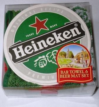 set-serviette-de-bar-10-dessous-de-bock-biere-heineken-lager-pp
