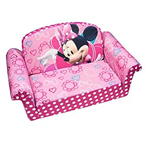 Marshmallow Furniture Minnies Bow-Tique Flip Open Sofa from Spin Master