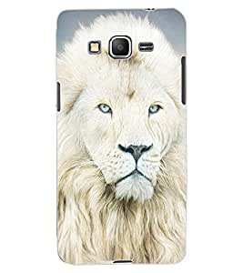 ColourCraft Lion Look Design Back Case Cover for SAMSUNG GALAXY GRAND PRIME DUOS TV G530BT