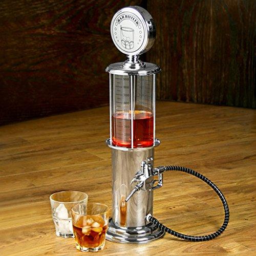 Vintage Gas Pump Liqueur Dispenser 30.4 fl oz | bar@drinkstuff Gas Pump Liquor Dispenser, Vintage Pump Bar Butler Drink Dispenser (Drink Dispenser Liquor compare prices)