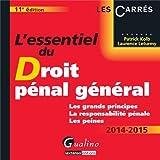 echange, troc Patrick Kolb - L'essentiel du droit pénal général 2014-2015