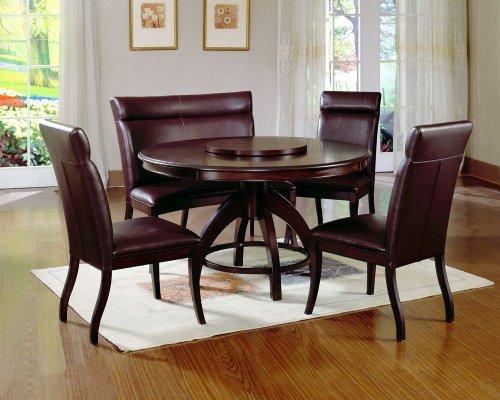Buy Low Price Hillsdale Furniture Nottingham Round Pedestal Dining Table – Hillsdale Furniture – 4077DTB (4077DTB)