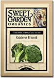 Green Sprouting Calabrese Broccoli - Certified Organic Heirloom Seeds