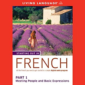 Starting Out in French, Part 1 Audiobook