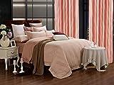 Dolce Mela DM470Q Jacquard Damask Luxury Bedding Duvet Covet Set, Queen