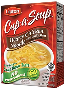 Lipton Cup-A-Soup, Hearty Chicken Noodle 1.7 oz