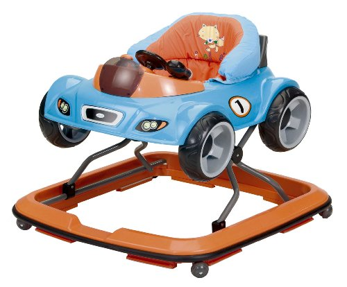 Jane Little Animals Team Baby Walker (Blue)