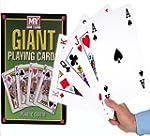 A4 Giant Jumbo Plastic Coated Playing...