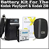 Battery And Charger Kit For Kodak