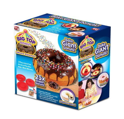 Big Top Donut - 25 Times Bigger Donut Bakeware
