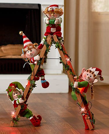 holiday-elf-collection-lighted-decorative-elf-ladder-