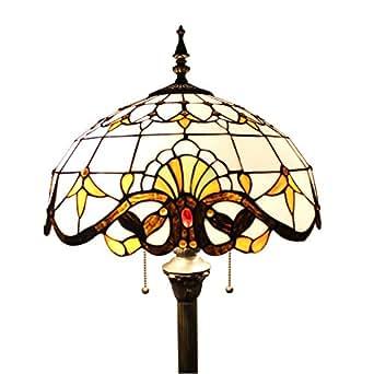 gweat 16 inch european baroque tiffany floor lamp living room lamp. Black Bedroom Furniture Sets. Home Design Ideas