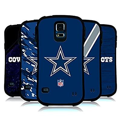 Official NFL Dallas Cowboys Logo Hybrid Case for Samsung Galaxy S5 / S5 Neo