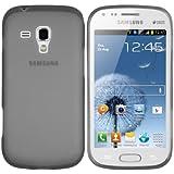mumbi silicone TPU Coque Samsung Galaxy S Duos - Silicone Etui Housse Étui Protecteur Case Noir
