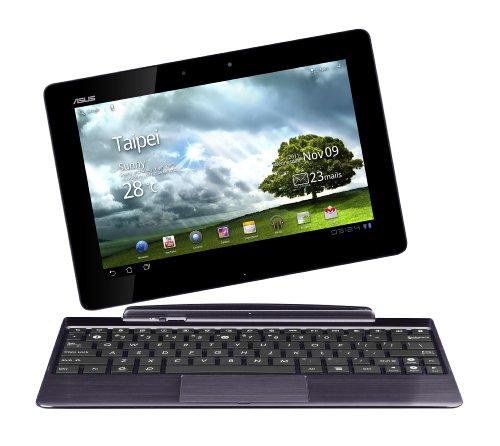 Asus EeePad Transformer Prime TF201 25,7 cm (10,1 Zoll) Tablet-PC (NVIDIA Tegra 3, 1,4GHz, 1GB RAM, 32GB eMMC, Android 3.2) inkl. KeyDock grau