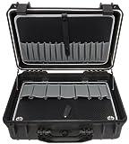 Famex 681-L Werkzeugkoffer Protector, leer, mit 2 Paletten