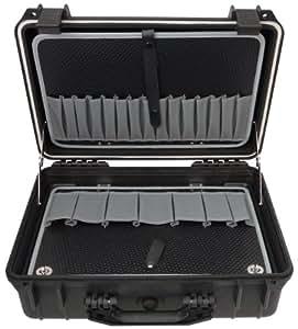 Famex 681-L Mallette à outils 2 niveaux taille L (Vide)