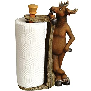 Friendly Moose Paper Towel Holder