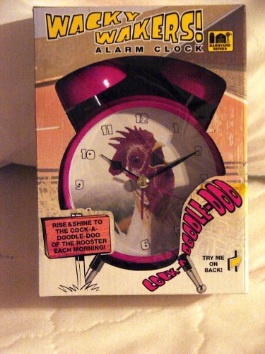 Wacky Wakers Rooster Alarm Clock