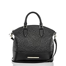 Large Duxbury Satchel<br>Black Saint Germaine