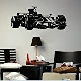 Formula One Self Adhesive Wall Transfer / Vinyl Wall Art / Interior Decal x29