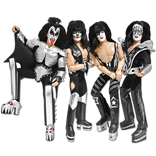 KISS 8 Inch Action Figures Series Three Sonic Boom: Set of Four LOOSE Figures