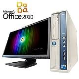 【Microsoft Office2010搭載】【Win7 搭載】【超大画面24インチ液晶セット】NEC MA-C/新世代Core 2 Duo 2.93GHz/メモリ4GB/HDD1TB/DVDスーパーマルチ/中古デスクトップパソコン