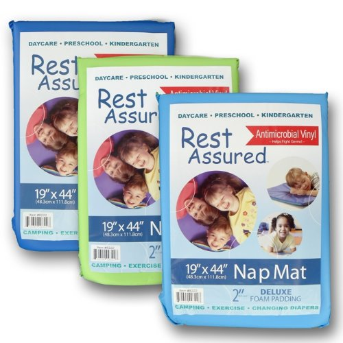 Heavy-Duty 2 Inch Nap Mat, 19X45X2 In., Made In The Usa, Each front-132801