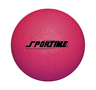 School Smart Playground Ball - 10 inch - Red from School Specialty