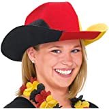 Hut Deutschland Cowboy, Filz, Einheitsgröße