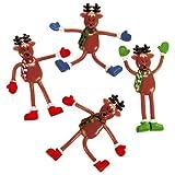 Reindeer Bendable Figures ~ approx. 3 3/4