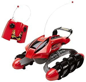 Hot Wheels R/C Terrain Twister Vehicle (Red) with Battery Pack System