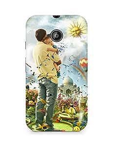 Amez designer printed 3d premium high quality back case cover for Motorola Moto E2 (My Daddy)