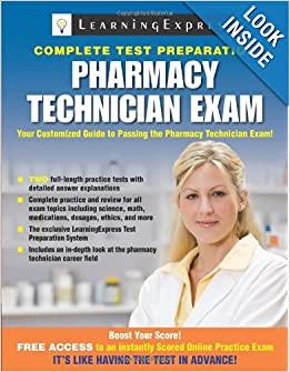 pharmacy technician exam learningexpress llc editors