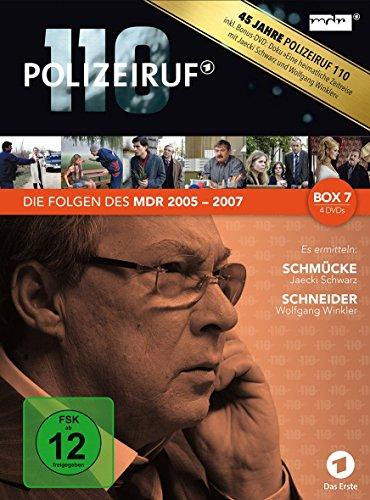 Polizeiruf 110 - MDR Box 7 [4 DVDs]