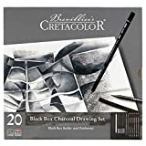 Cretacolor Blackbox 20 Piece Charcoal Set