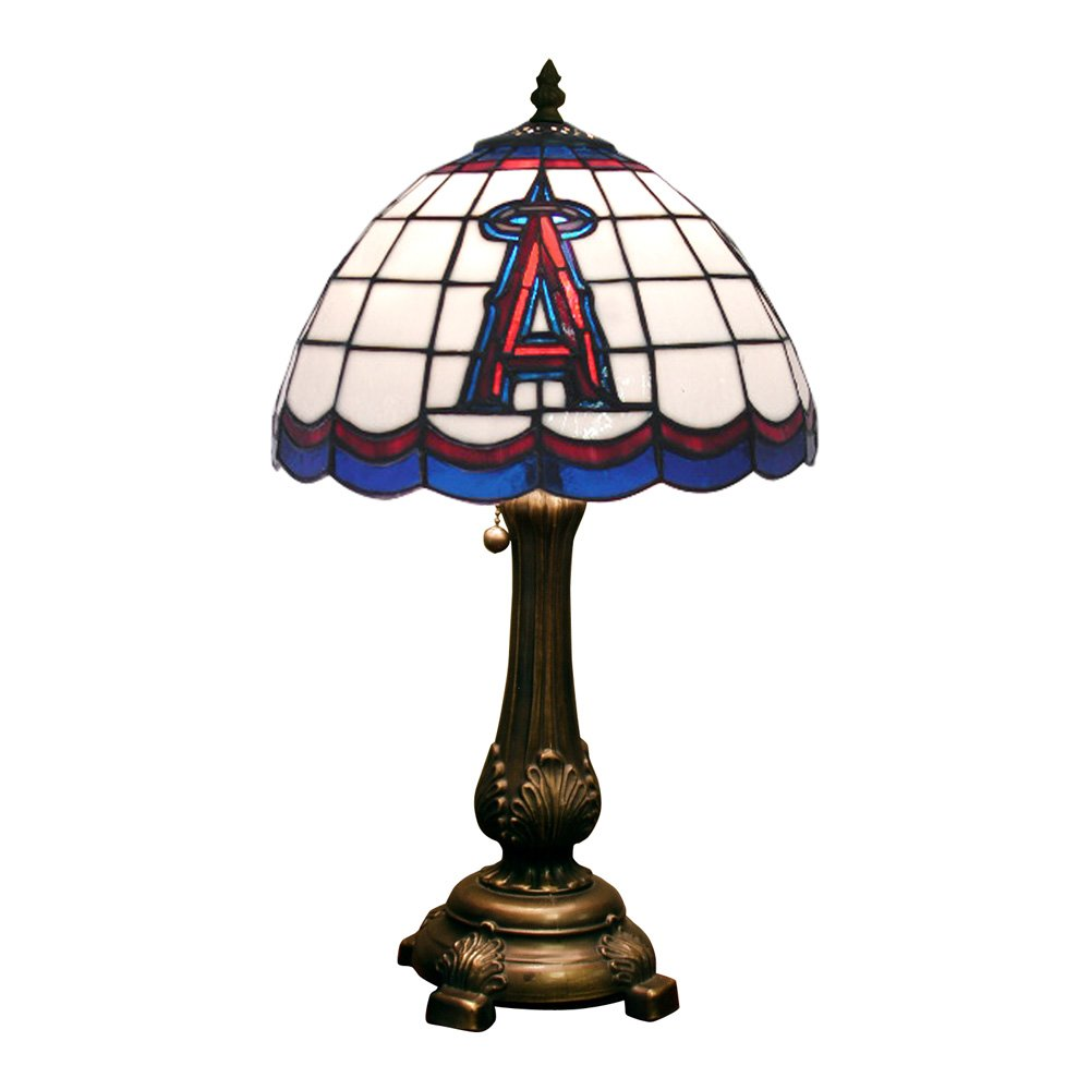 MLB Los Angeles Angels Tiffany Table Lamp