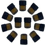 Best Essential Oil Amber Glass Vials-1ml 1/4 Dram Bottles W/orifice Reducers & Cap Mini Glassware,12ct
