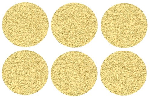 "Set 6 Children'S Crazy Carpet Circle Seats - Soft Yellow 18"" Round Rug Mats front-1028954"